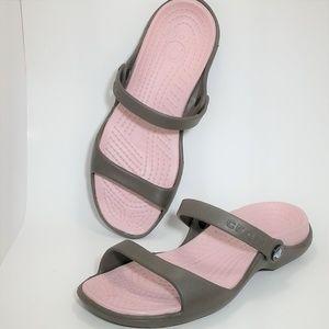 Crocs Women's Cleo Sandal  NWOB